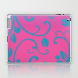 Thyroid Disease Awareness: Floral Laptop & iPad Skin