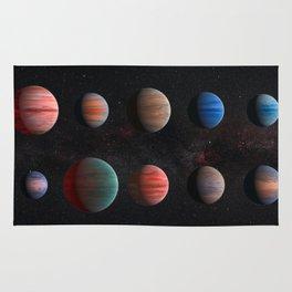 Planets : Hot Jupiter Exoplanets Rug