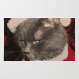 Santa Cat Rug