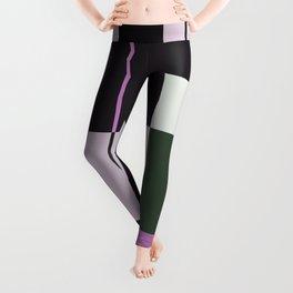 Interesting Geometry - Pale, pastel artwork Leggings