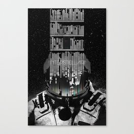 Interstellar Poster Canvas Print