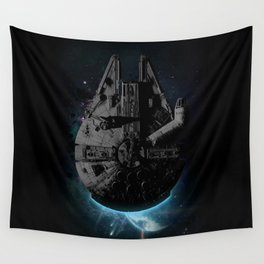 Stealth Falcon Wall Tapestry