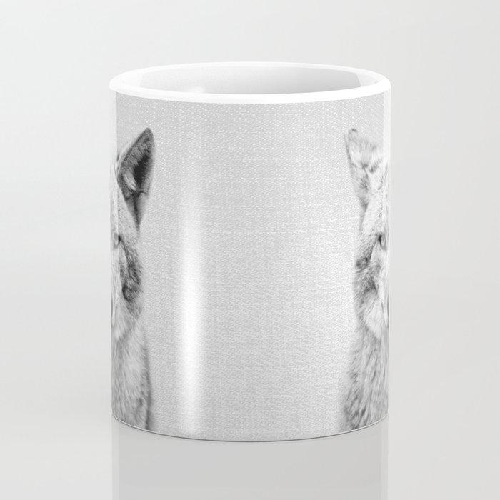 Coyote - Black & White Coffee Mug