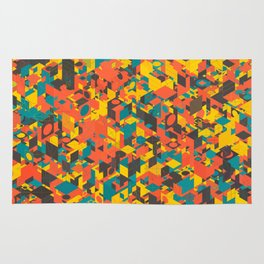 Panelscape: colours from Space Filler Rug