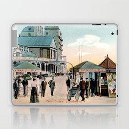 Pier Gates Llandudno Wales 1890 Laptop & iPad Skin