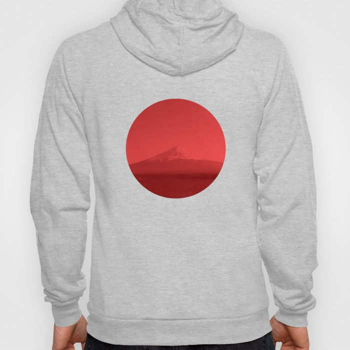 Japanese Flag - Mount Fuji, Japan Hoody