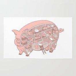Pigtopia Rug