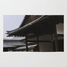Temple at Kinkakuji in Kyoto, Japan Rug