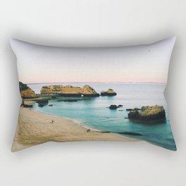 Oceanside Sunset Rectangular Pillow