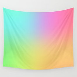 Blended Rainbow Wall Tapestry