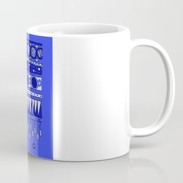 Yzor pattern 007-2 blue Coffee Mug