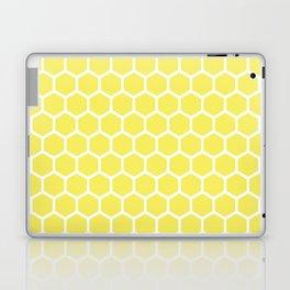 Summery Happy Yellow Honeycomb Pattern - MIX & MATCH Laptop & iPad Skin