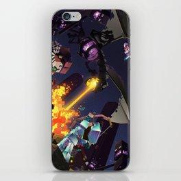 Epic Ender Dragon Battle iPhone Skin