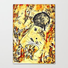 Tatted-up Canvas Print