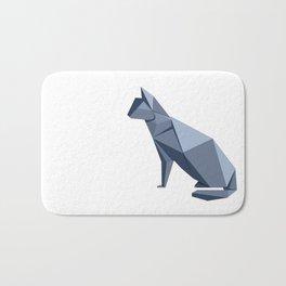 Origami Cat Bath Mat