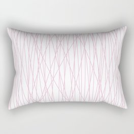 pin(k)stripes Rectangular Pillow