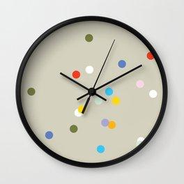 a spot of dots Wall Clock