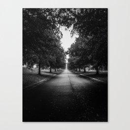 The Lone Walk Canvas Print