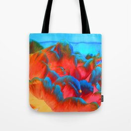 Peony on the Wildside Tote Bag