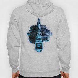 Leviathan BLUE / Keep on trucking Hoody