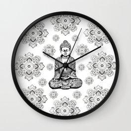 Buddha,HOME DECOR, 2,Graphic Design,Home Decor,iPhone skin,iPhone case,Laptop sleeve,Pillows,Bed,Art Wall Clock