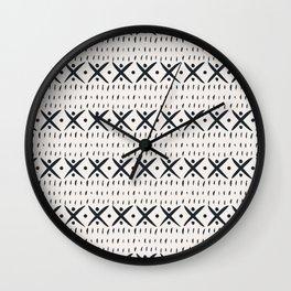 ADOBO MUDCLOTH LIGHT Wall Clock