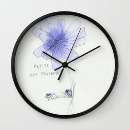 petite but powerful Wall Clock