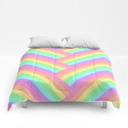 Woven Rainbow Comforters