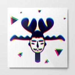 TRIPboy -TANUKI Metal Print