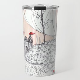 In the sky and in the sand Travel Mug