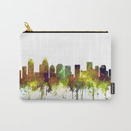 Charlotte NC Skyline SG Safari Buff Carry-All Pouch