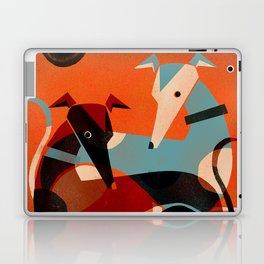 GREYHOUND PAIR Laptop & iPad Skin