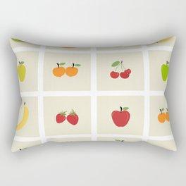 AFE Fruit Grid Rectangular Pillow