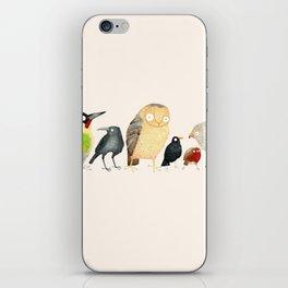 Woodland Bird Collection iPhone Skin