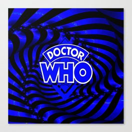 doctor who dimension Canvas Print