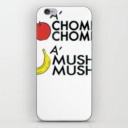 A'CHOMP CHOMP! iPhone Skin