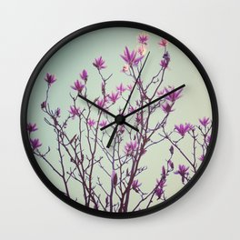 Reach for the light Wall Clock