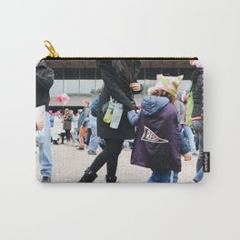 Children at the Women's March Carry-All Pouch