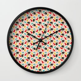 It's morphin' time Wall Clock