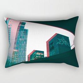 Geometry in a City Rectangular Pillow