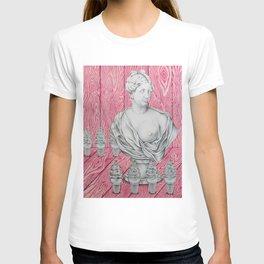 Venus and the Woodgrains T-shirt