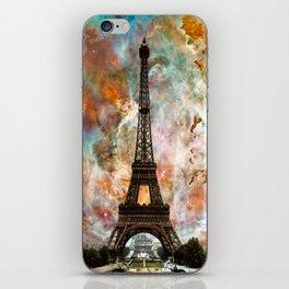 The Eiffel Tower - Paris France Art By Sharon Cummings iPhone Skin