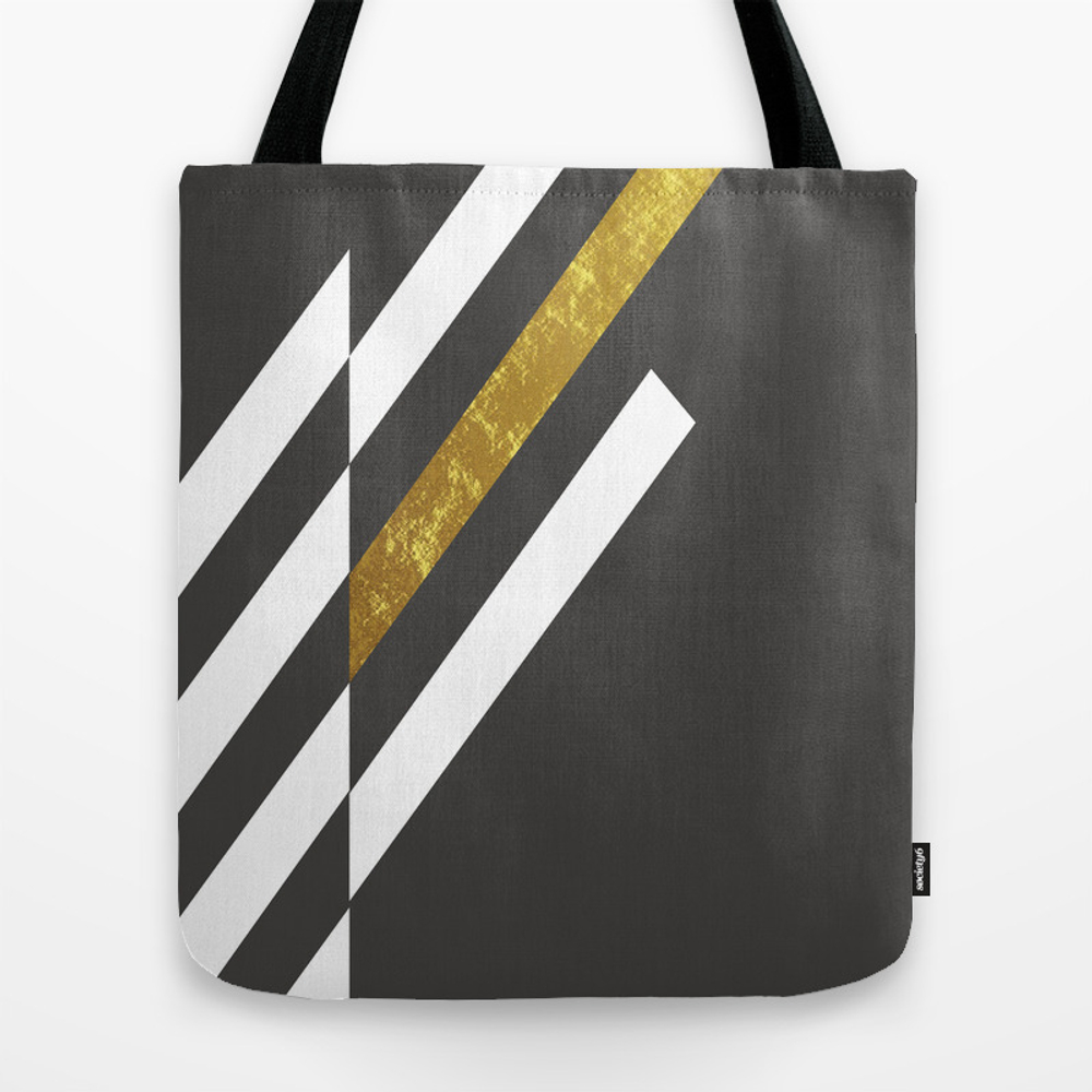 Illusions In Gold Tote Bag by Bakmannart TBG8743750