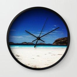 Lucky Bay Wall Clock