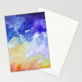 Autumn Abstraction Stationery Cards