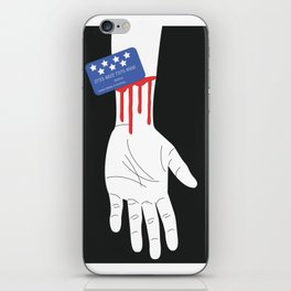 Credit Cards Are Killing Us iPhone Skin