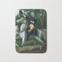Andrew Jackson On Horseback Bath Mat