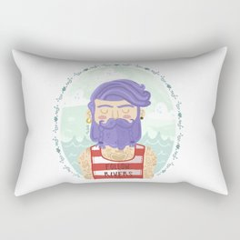 Follow Rivers Rectangular Pillow