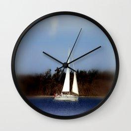 I am sailing............. Wall Clock