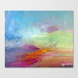 Sunset, Lara I. Canvas Print